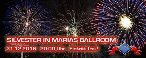 Marias Ballroom Silvesterparty 20162017 In Marias Ballroom